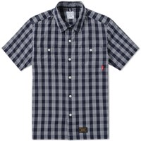 Wtaps Short Sleeve Union 02 Shirt Blue