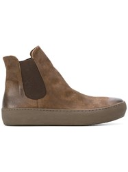 The Last Conspiracy Elasticated Panel Ankle Boots Men Horse Leather Leather Rubber 41 Brown