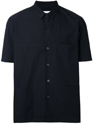 Christophe Lemaire V Neck Shirt Black