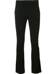 Givenchy Zip Cuff Cropped Trousers Black