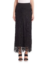 Donna Karan Long Lace Skirt