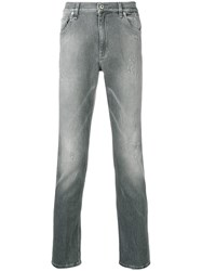Dondup Mid Rise Slim Fit Jeans Grey