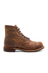 Red Wing Shoes Iron Ranger Cognac
