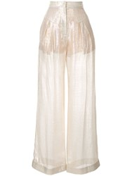 Alice Mccall Champers Trousers Gold