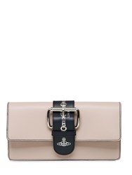 Vivienne Westwood Alex Leather Clutch With Buckle