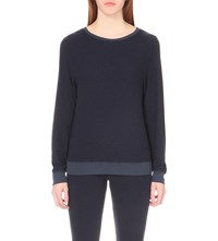 Wildfox Couture Baggy Beach Jumper Oxford Blue