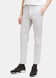 Acne Studios Alfred Straight Leg Chino Pants Grey