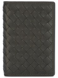 Bottega Veneta Woven Leather Wallet 60