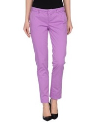 Guess Casual Pants Purple