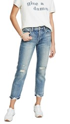 Amo Rigid Babe High Rise Slim Straight Jeans Loved