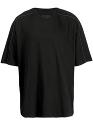 D.Gnak Scotch Piping T Shirt Black