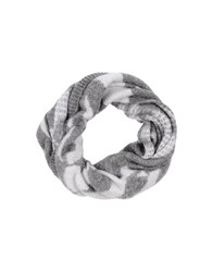 Pinko Accessories Oblong Scarves Women Grey