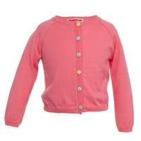 Bryony And Co Classic Cardigan Rose Pink Pink Purple