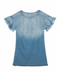 Ag Jeans Margaux Chambray Dress Size S L Blue