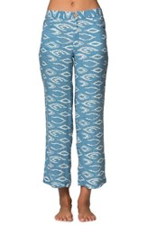 O'neill Women's Dola Beach Pants Smoke Blue