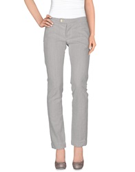 Manila Grace Denim Pants Light Grey