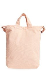 Baggu 'Duck Bag' Canvas Tote Coral Shell