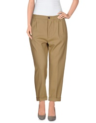 People 3 4 Length Shorts Camel