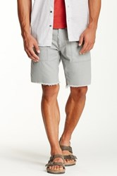 Artisan De Luxe Jude Frayed Short Gray