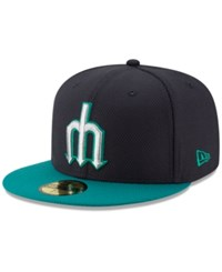 New Era Seattle Mariners Diamond Spring Training 59Fifty Cap Navy Teal