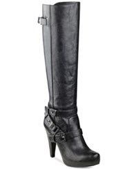G By Guess Theory Tall Boots Women's Shoes Black