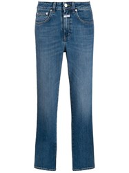 Closed Cropped Skinny Jeans Blue