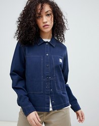 Lee Workwear Overshirt Blue