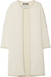 By Malene Birger Azzica Macrame Trimmed Cady Coat