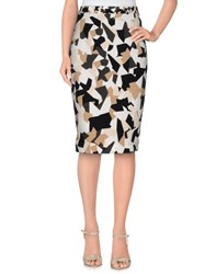 Givenchy Skirts Knee Length Skirts Women Beige