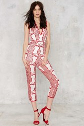 Nasty Gal It's What I Want Crochet Jumpsuit