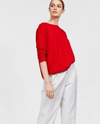 Aspesi Wool Sweater Red