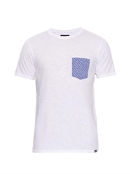 Woolrich Printed Pocket Cotton Jersey T Shirt