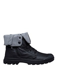 Palladium Baggy Zip On Ankle Boots Black