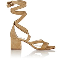 Barneys New York Women's Virginia Ankle Wrap Sandals Nude