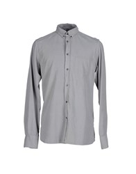 Dondup Shirts Shirts Men Grey