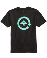 Lrg Men's Cycle Logo T Shirt Black