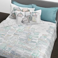 Trussardi Books Duvet Set White Super King