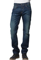 Japan Rags Twin Straight Leg Jeans Blue
