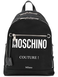 'Moschino Couture ' Backpack Black