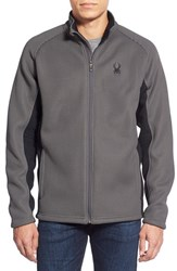 Spyder Men's 'Foremost' Zip Front Knit Sweater