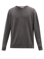 Raey Loose Fit Crew Neck Cashmere Sweater Charcoal