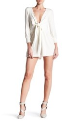 Rachel Pally Gabriel Playsuit White