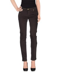 Duck Farm Trousers Casual Trousers Women Dark Brown