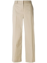 Paul Smith Ps By Casual Cropped Trousers Brown