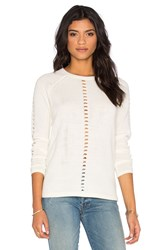 Rvca Claton Sweater White