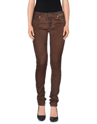 Plein Sud Jeanius Trousers Casual Trousers Women Cocoa