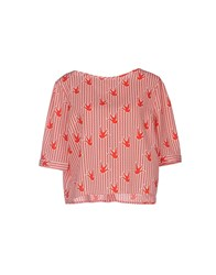 Anonyme Designers Shirts Blouses Women Red