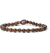 Mikia Tiger's Eye Bracelet Brown