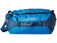 Osprey Transporter 65 Kingfisher Blue Duffel Bags Navy