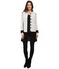 Nic Zoe Bold Block Jacket Black Mix Women's Coat